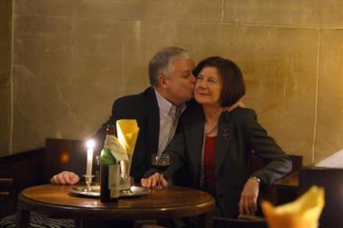 Lech Kaczyński i Maria Kaczyńska