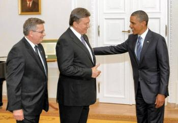 Wiktor-Janukowycz-i-Barack-Obama