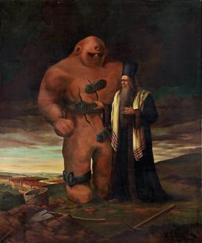 prague golem and rabbi loew