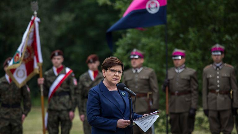 z21960892IE,Premier-Beata-Szydlo-w-Oswiecimiu