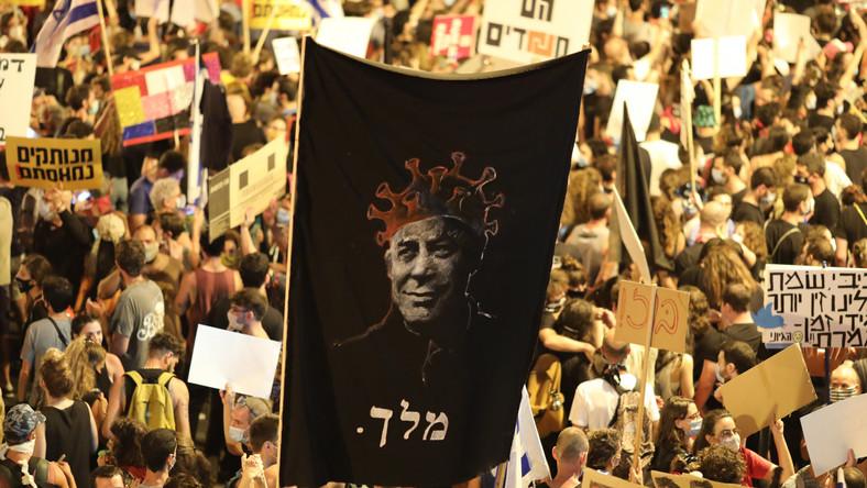 protest-przeciwko-netanjahu-w-jerozolimie